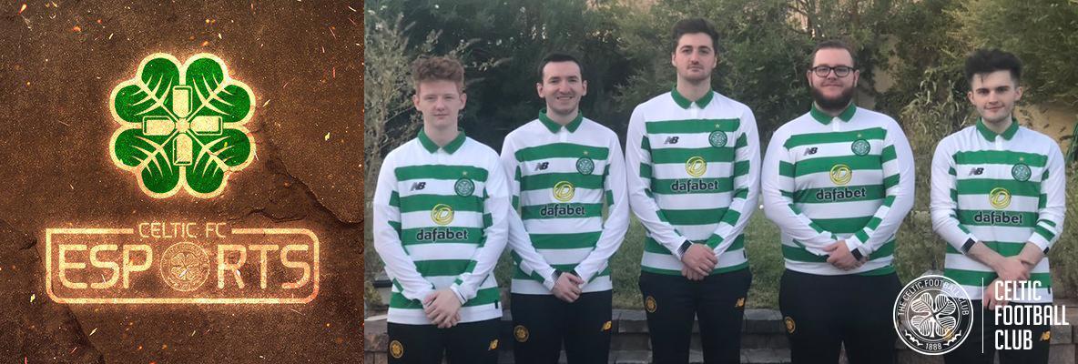 Celtic Football Club Sign Call of Duty Esports Team