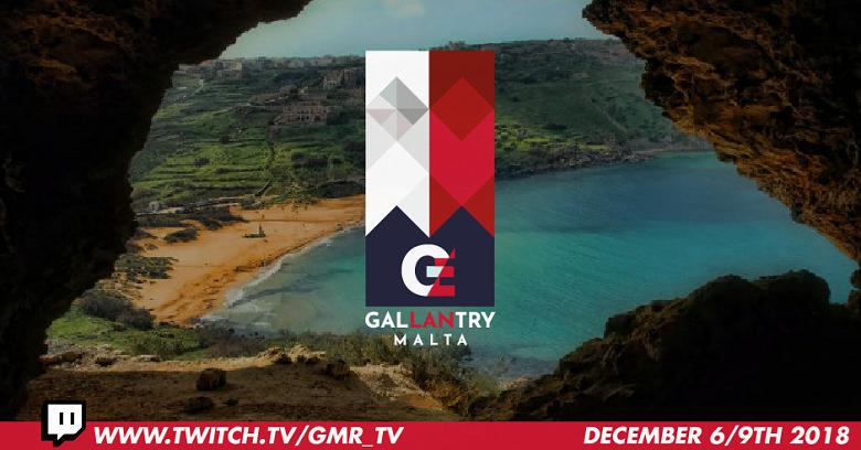 The GO Malta Esports Festival - GALLANTRY Malta
