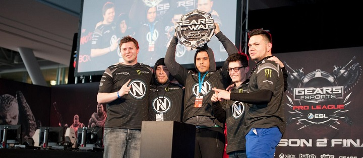 Team EnVyUs drops Gears of War