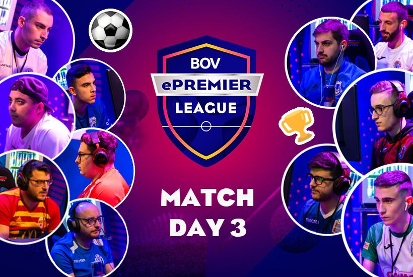 Match Day 3 Preview - The Malta BOV ePremier League