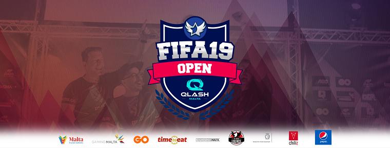 The GO Malta Esports Festival 2018 - €2000 Qlash FIFA 19: Open