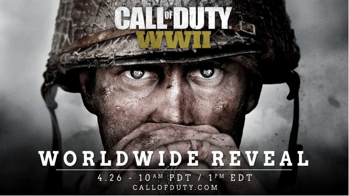 Call Of Duty: WWII confirmed by Activision