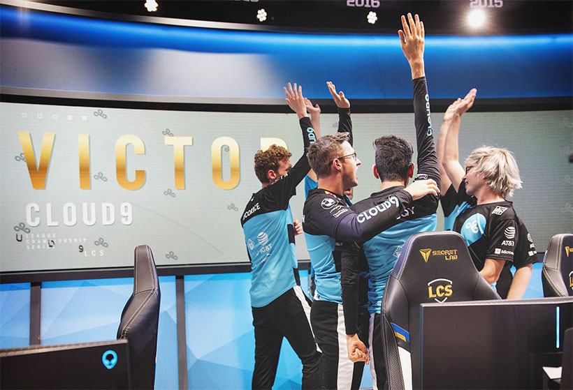 Cloud9 wins the 2020 LCS Spring Split!