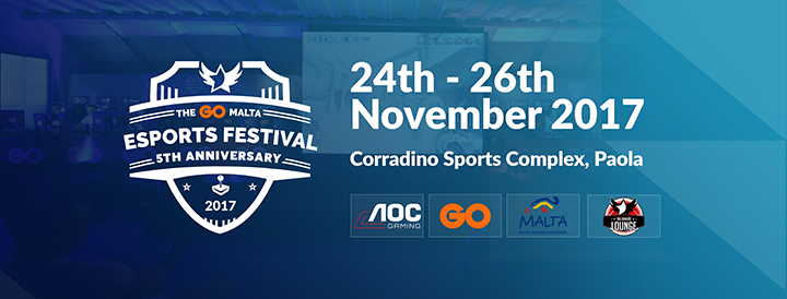 An Introduction to The GO Malta eSports Festival 2017
