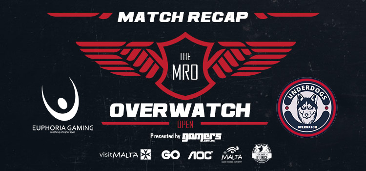 The MRO Overwatch: Open - Underdogs vs Euphoria Gaming Match Recap