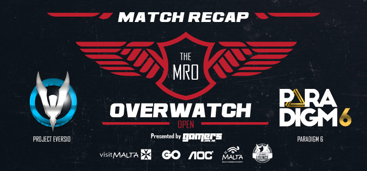 The MRO Overwatch: Open - Project Eversio vs Paradigm6 Match Recap
