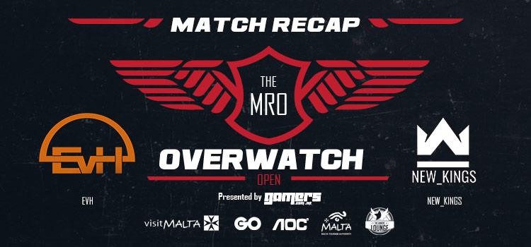 The MRO Overwatch: Open - EvH vs New_Kings Match Recap