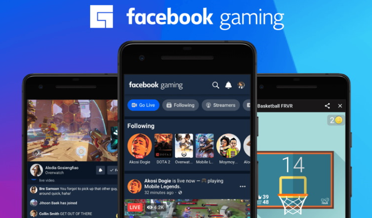 Facebook Launches it's new Gaming app