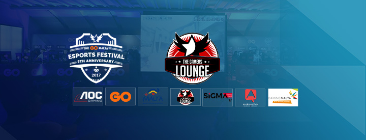 The Gamers Lounge sponsoring The GO Malta eSports Festival 2017