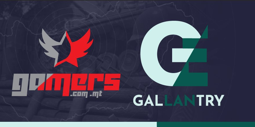 Gamers.com.mt partners with Gallantry Events