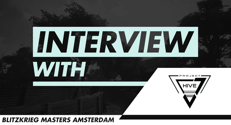 Blitzkrieg Masters Amsterdam 2018 - Interview with Project Hive (ex DBEPains)