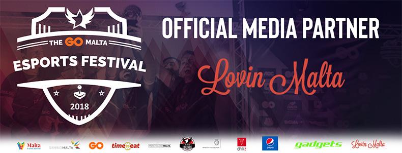 Lovin Malta - An Official Media Partner for The GO Malta Esports Festival 2018!