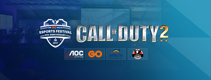 Call of Duty 2 at the GO Malta eSports Festival 2017!