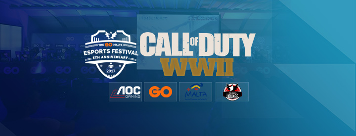 COD: WWII at the The GO Malta eSports Festival 2017
