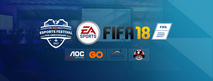 FIFA 18 at The GO Malta eSports Festival 2017!