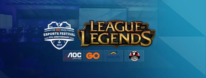 League of Legends at The GO Malta eSports Festival 2017!
