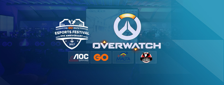 Overwatch at The GO Malta eSports Festival 2017