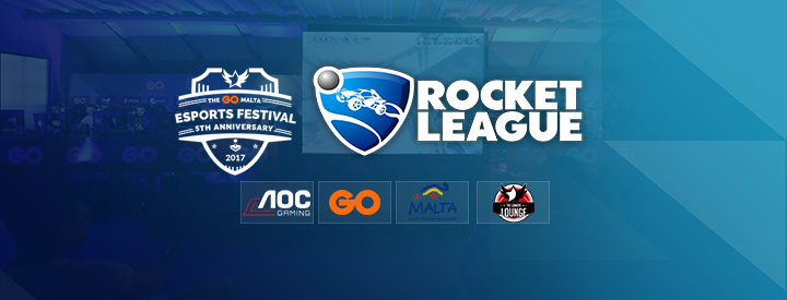 Rocket League at the GO Malta eSports Festival 2017