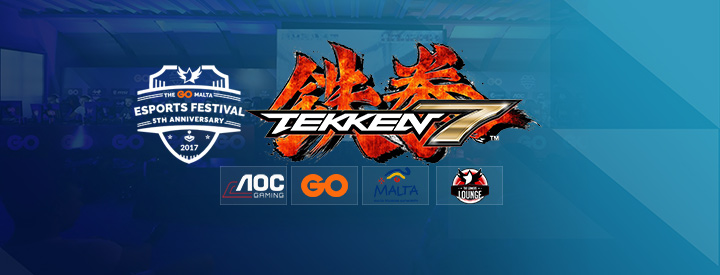 Tekken 7 at The GO Malta eSports Festival 2017