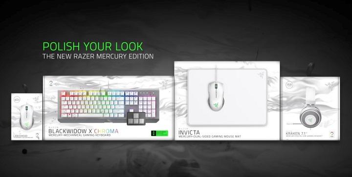 Razer Mercury and Gunmetal Hardware Suite