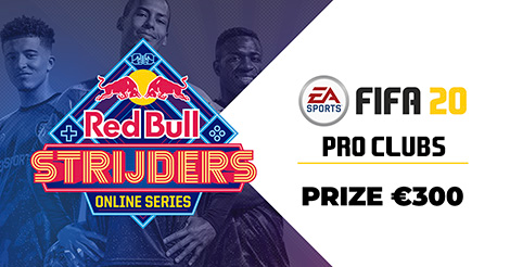 Have you registered for the Red Bull Strijders // Online Series - Pro Clubs Qualifiers?