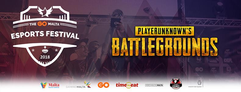 The GO Malta Esports Festival - PUBG Open