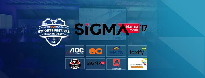 SiGMA Sponsoring the GO Malta eSports Festival 2017