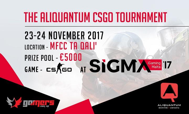 The Aliquantum CSGO Tournament at SiGMA17