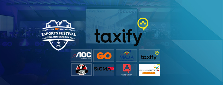 Taxify To Sponsor The GO Malta eSports Festival