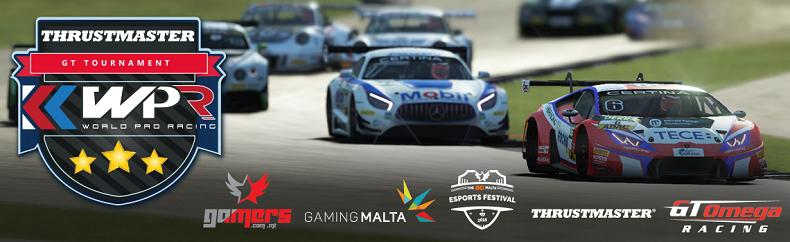 World Pro Racing GT Tournament - GO Malta Esports Festival 2018