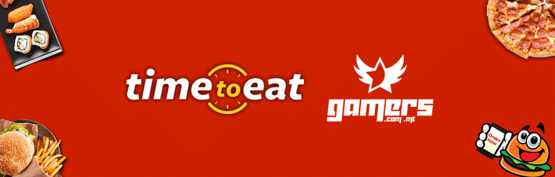 Time to Eat Sponsors Gamers.com.mt!