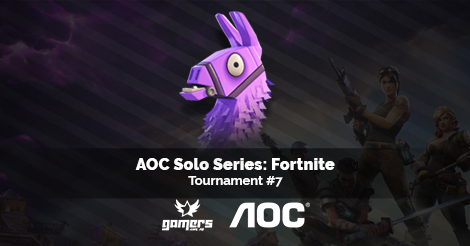 AOC Solo Series: Fortnite Tournament #7   Gamers com mt