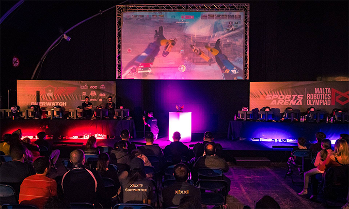 Overwatch at The GO Malta eSports    | Gamers com mt