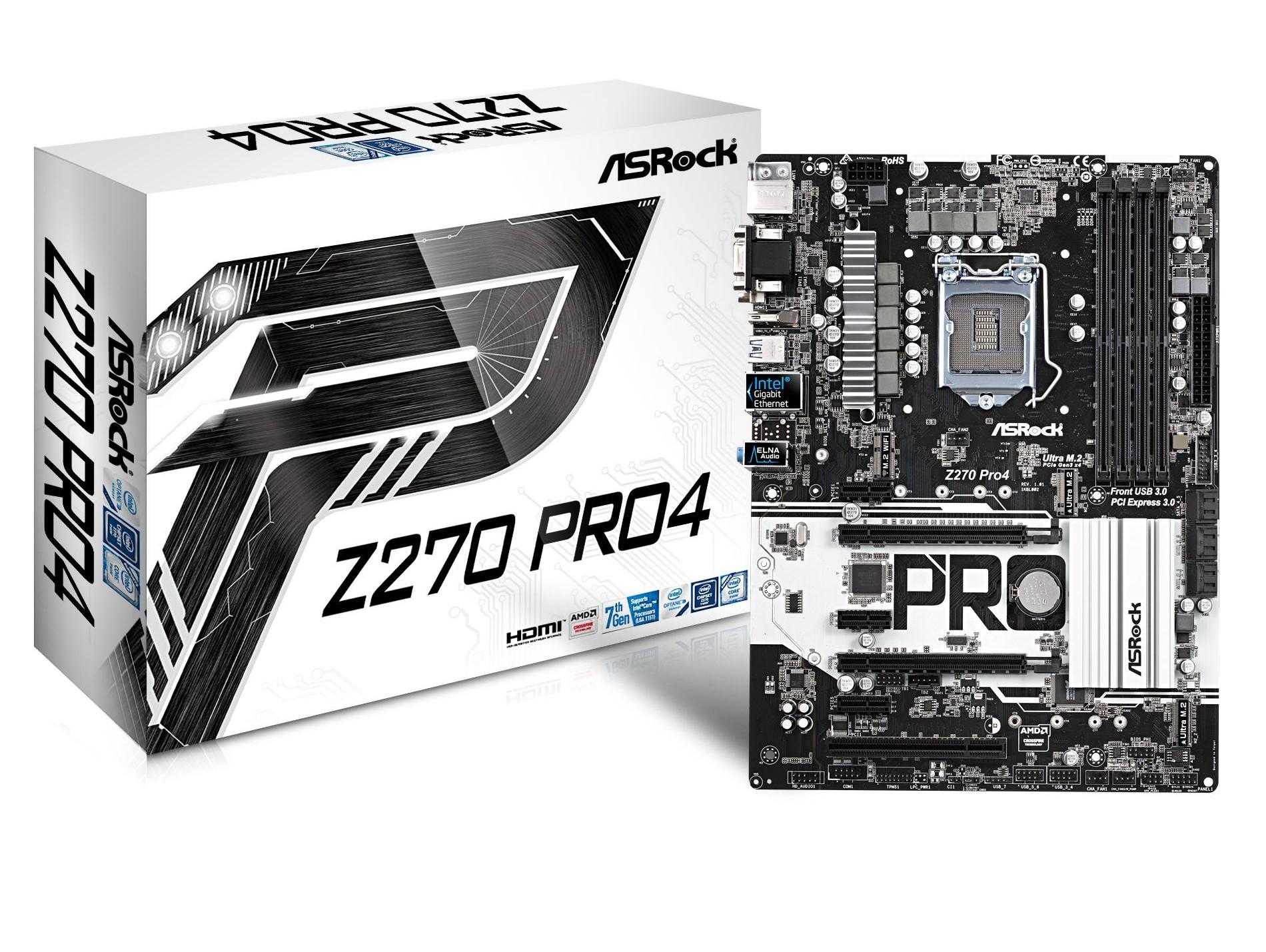 ASRock Z270 PRO 4 Motherboard