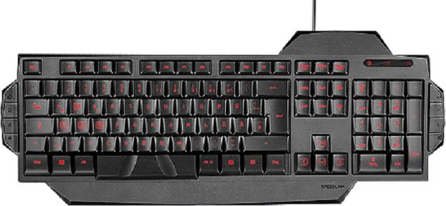 Speedlink RAPAX Gaming Keyboard, black