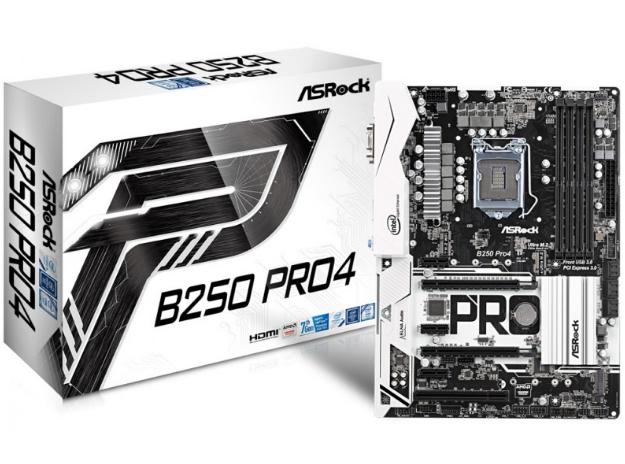 Asrock B250 PRO 4 Motherboard