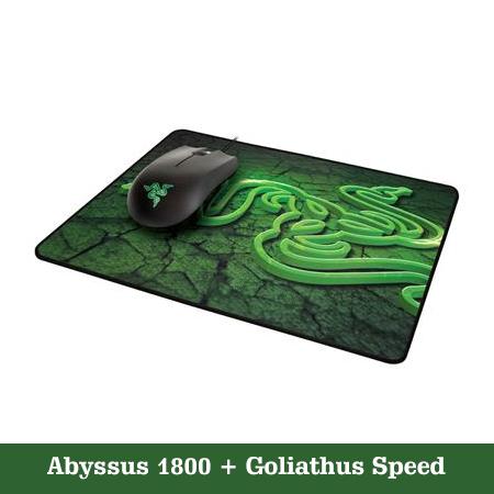 Razer Abyssus + Goliathus Mouse Mat
