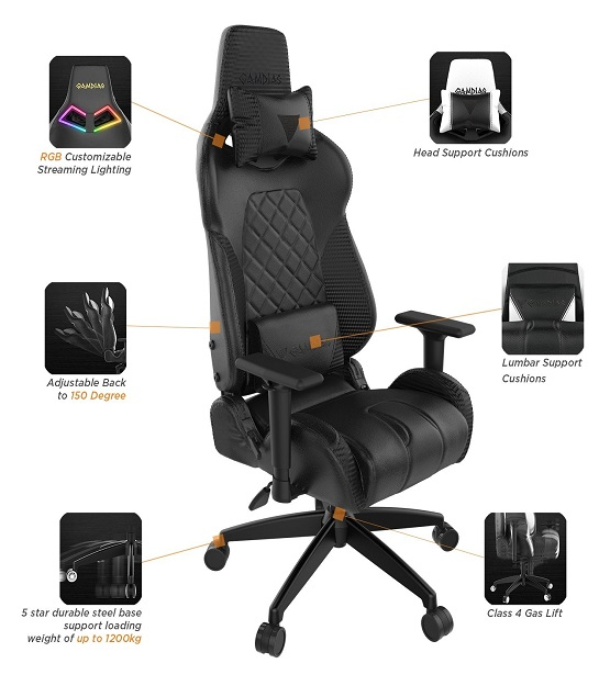 Gamdias Achilles P1 Gaming Chair