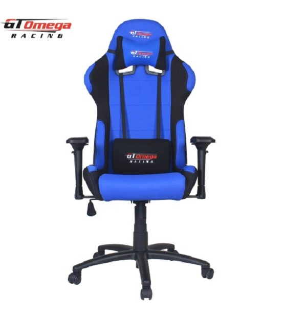 GT Omega PRO Racing Office Chair Blue and Bla