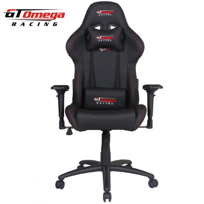 GT Omega PRO Racing Office Chair Black Leathe