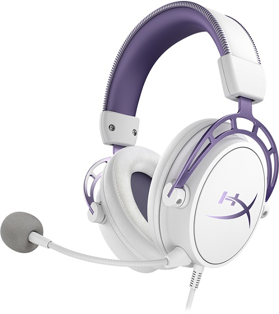 HyperX Cloud Alpha Purple