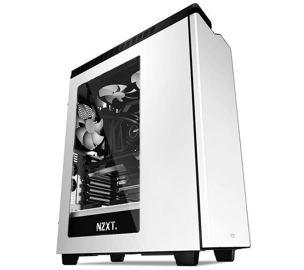 NZXT computer case H440 White-black